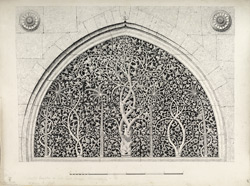 Ahmadabad: Perforated window in Sidi Syeds mosque